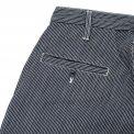 Indigo Hickory Stripe Cargo Pants
