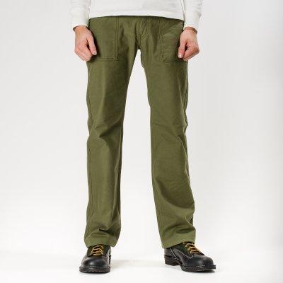 Cotton Serge Baker Pants