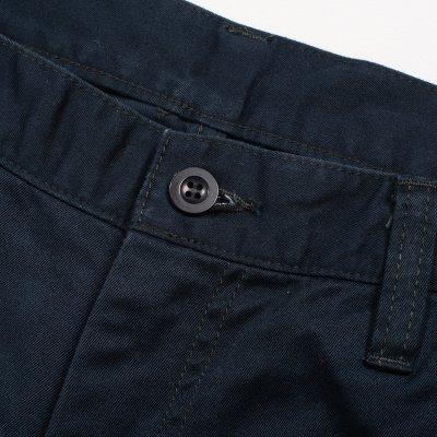 Khaki or Navy Blue Selvedge Cotton Chinos