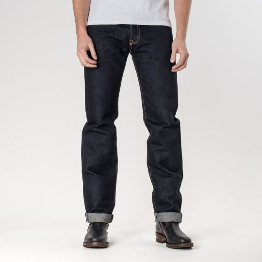 Indigo 18oz Money Denim Straight Cut