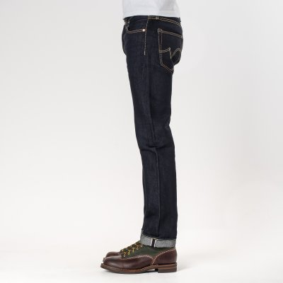 Indigo 18oz Money Denim Slim Straight Cut