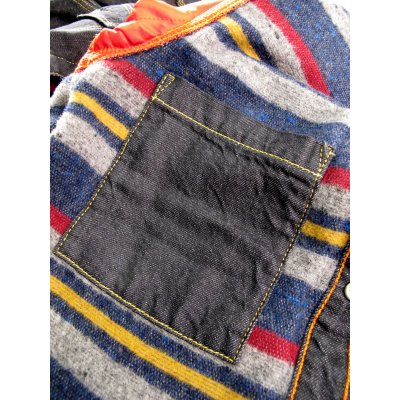 Blanket Lined 8oz Indigo or Black Denim Shirt