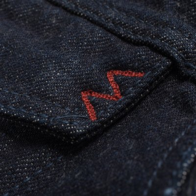 Natural Indigo 17oz Selvedge Organic Denim Type III