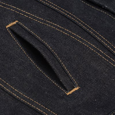 Indigo 19oz Left-Hand Twill Selvedge Denim Type III