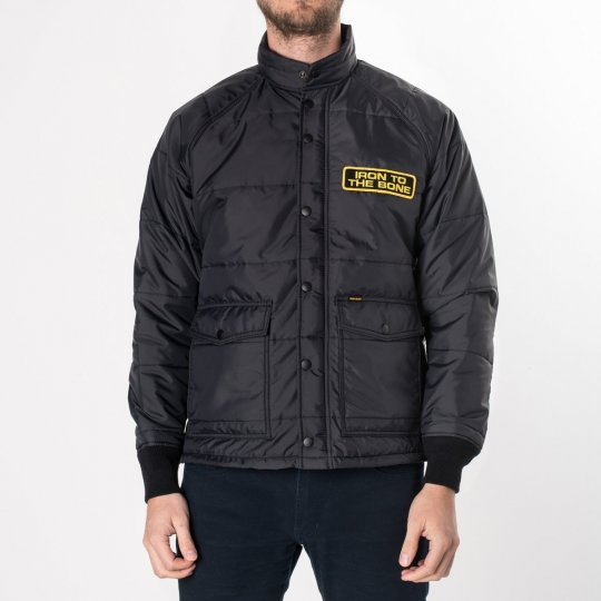 Black Quilted Rider's Jacket