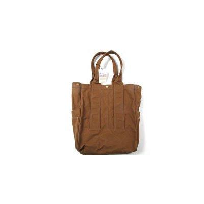 17oz Paraffin Coated Duck Tote Bag - Black or Brown