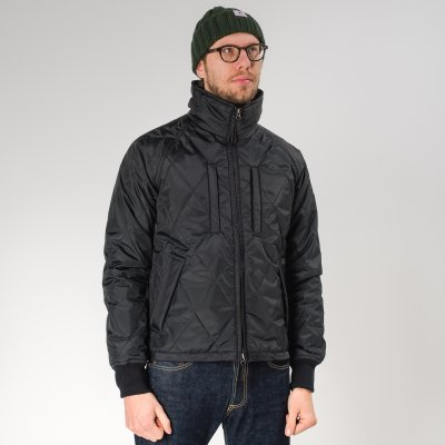 Black PrimaLoft™ Quilted Rider's Jacket