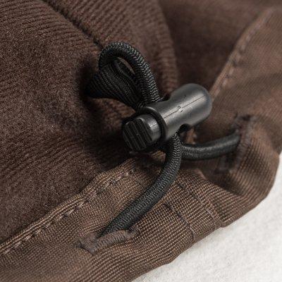 Brown Fleece Lined Cordura Windbreaker