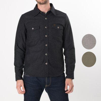 Charcoal Woollen Work Shirt