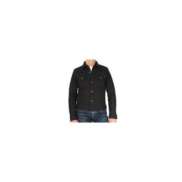 17oz Black Cotton Duck Modified Type III Jacket