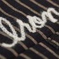 Black or Navy Striped Mechanic's Shirt
