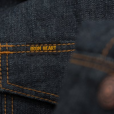 Indigo 11.5oz Selvedge Denim CPO Style