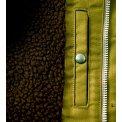 Whipcord Deck Jacket - Olive & Black