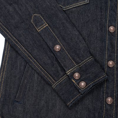 Indigo 17oz Selvedge Denim CPO Style