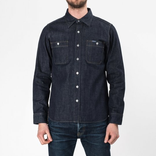 Indigo 12oz Selvedge Denim Work Shirt
