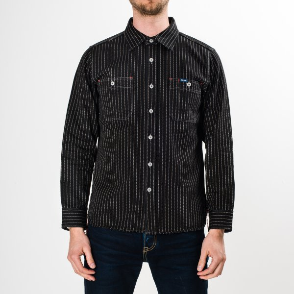 Black 12oz Wabash Work Shirt