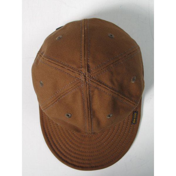 17oz Cotton Duck Cap - Brown or Navy Blue