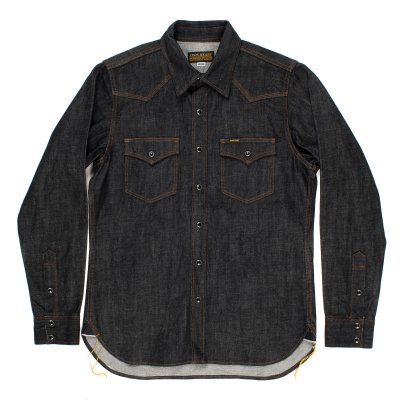 Black 12oz Selvedge Denim Western