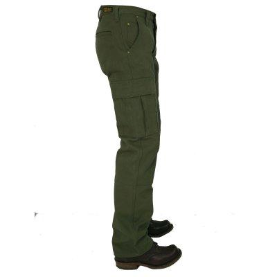 Ultra Heavy Selvedge Serge Cargo Pants