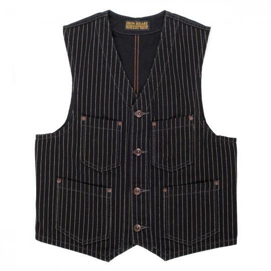 Black Wabash/Black Duck Work Vest