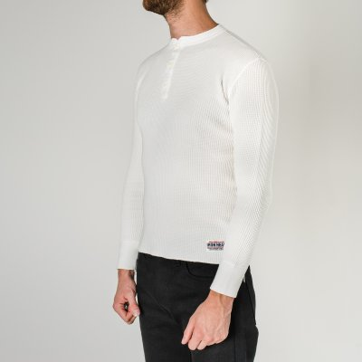 Long Sleeved Thermal Henley