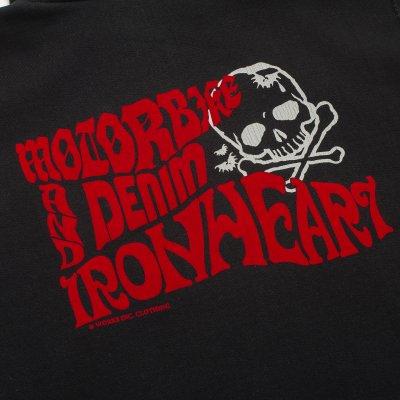"""Ultra Heavy """"Motorbikes and Denim"""" Zippered Hoodie"""