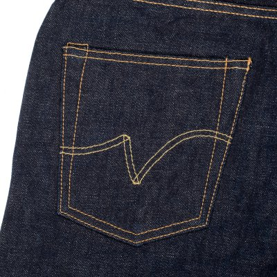 Indigo 18oz Vintage Denim Straight Cut