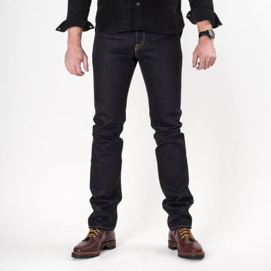 Indigo/Indigo 25oz Selvedge Denim Tapered Cut