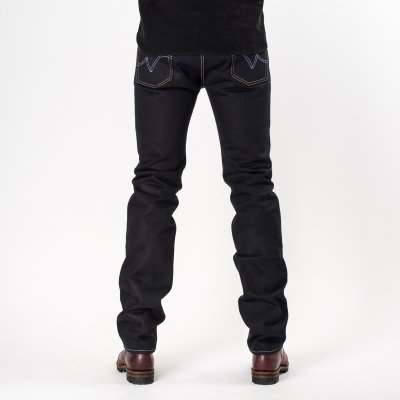 Indigo/Indigo 25oz Selvedge Denim Slim Cut