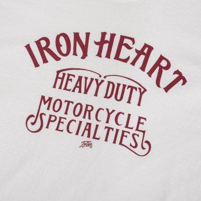 Printed 6.5oz White Loopwheel T-Shirts