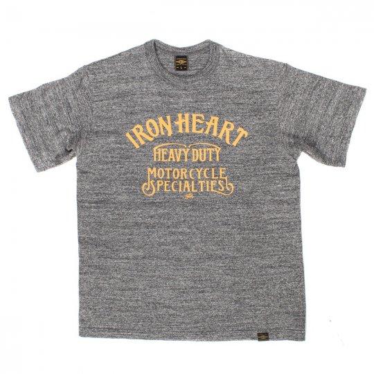 Printed 6.5oz Heather Grey Loopwheel T-Shirts