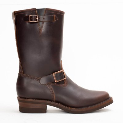 """The Bootery/Wesco® - 1930's 10"""" Brown Boss Engineer Boot"""