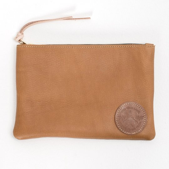 OGL Leather Travel Pouch