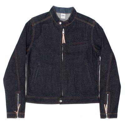 Indigo 13oz Selvedge Denim Rider's Jacket
