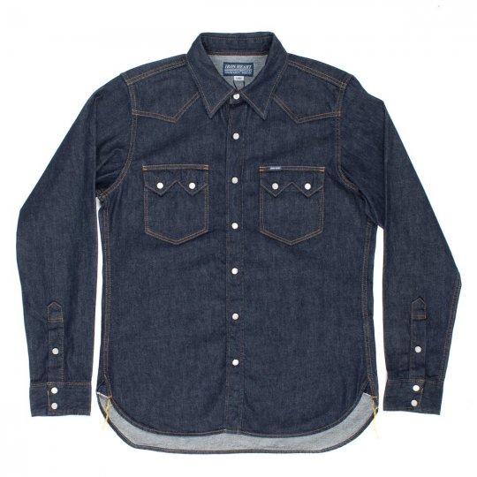 Indigo 7oz Selvedge Denim Sawtooth Western Shirt