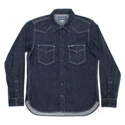 Indigo 7oz Selvedge Denim Western Shirt