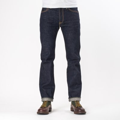 Indigo 18oz Vintage Selvedge Denim Slim Straight Cut