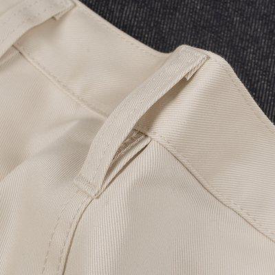 Ivory 9oz Selvedge Mercerised Cotton Chinos