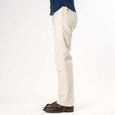 Ivory 17oz Duck Logger Pants