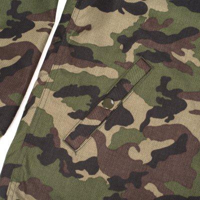 Cordura Camouflage Fleece Lined Windbreaker