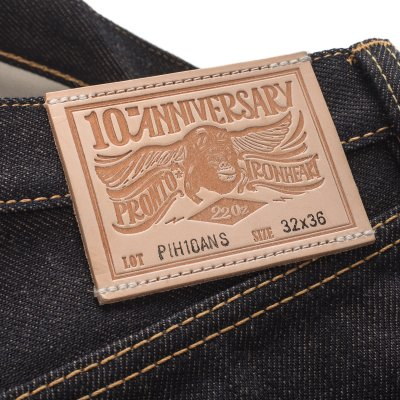 Indigo 22oz Selvedge Pronto Denim Straight Cut