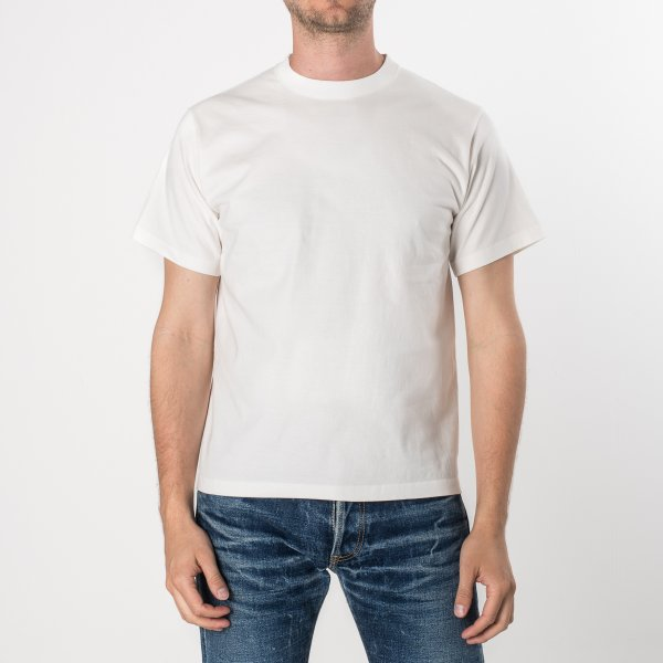 Plain White Iron Heart 7.5oz Loopwheel T-Shirts