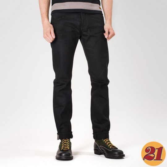 Superblack 21oz SBG Selvedge Denim Super Slim