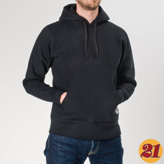 Ultra Heavy Pull-On Cotton Hoodie