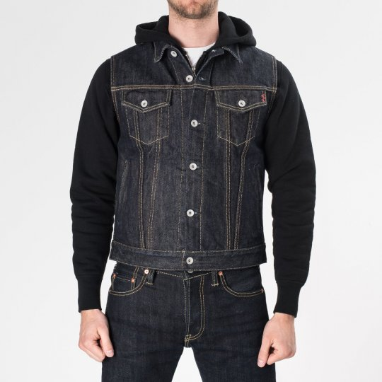 Indigo 21oz Selvedge Denim Vest