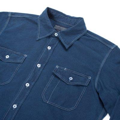 White US Navy Style 5.5oz Selvedge Chambray Shirt