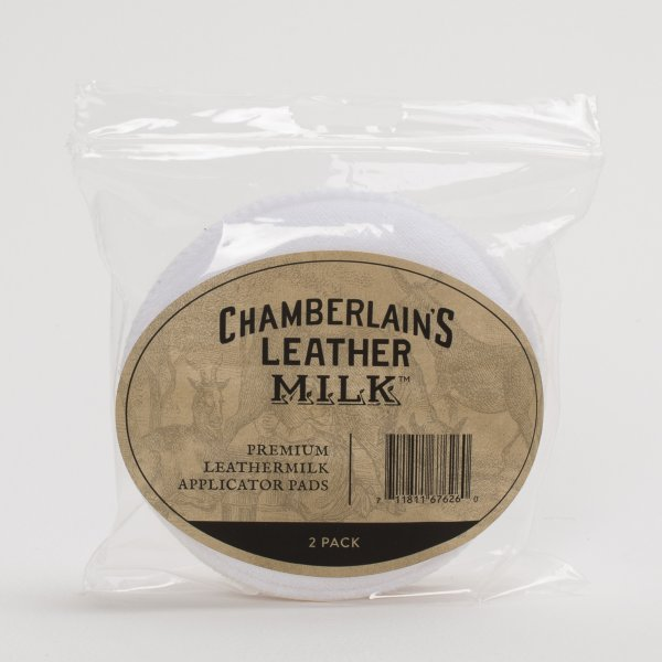 Chamberlain's Leather Milk Applicator Pads (2 Pack)