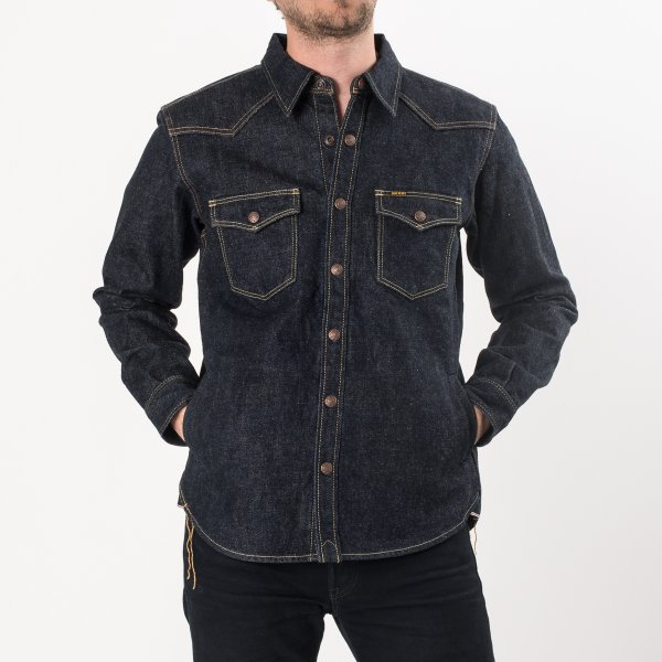 Indigo 18oz Selvedge Denim CPO Style
