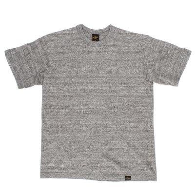 6.5oz Loopwheel Crew Neck T-Shirt - Navy, Marl Grey, Light Marl Grey or White