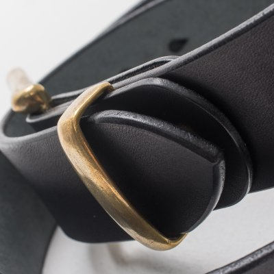 """Heavy Duty """"Tochigi"""" Leather Belts - Black and Brown"""